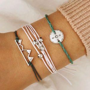 5/$12 🛍 3pc Yarn Adventure Bracelets
